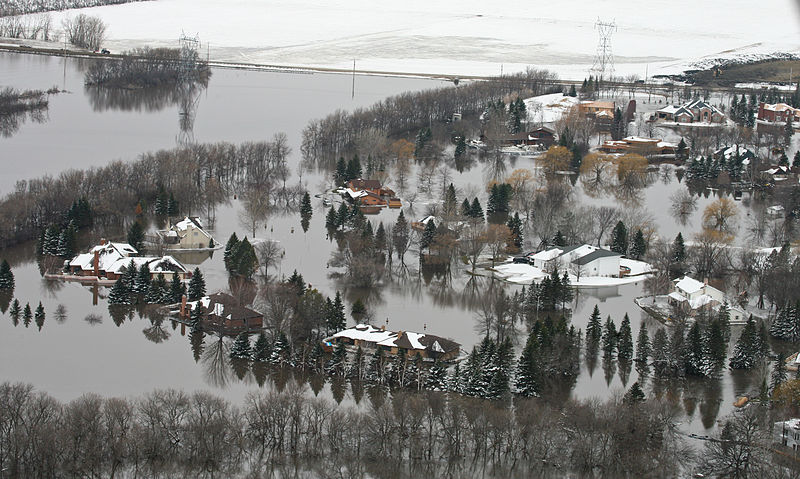 Flooded homes in MN, Andrea Booher, FEMA Photo Library