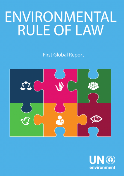 Environmental Rule of Law Report Cover