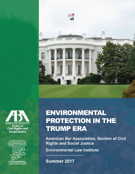 Environmental Protection in the Trump Era
