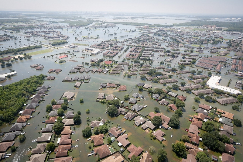 Hurricane Harvey will continues to threaten public health long after floodwaters have subsided (Wikimedia Commons).