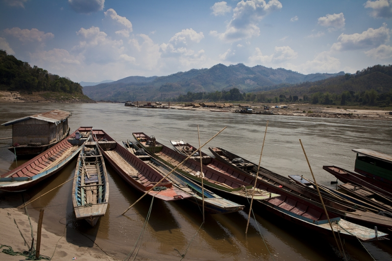 The Mekong River flows through 6 countries, creating significant transboundary ESIA challenges (Photo: Laos DFAT).