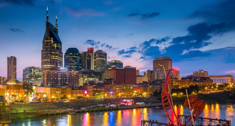 Downtown Nashville, Tennessee (Photo: Kid Friendly Nashville)