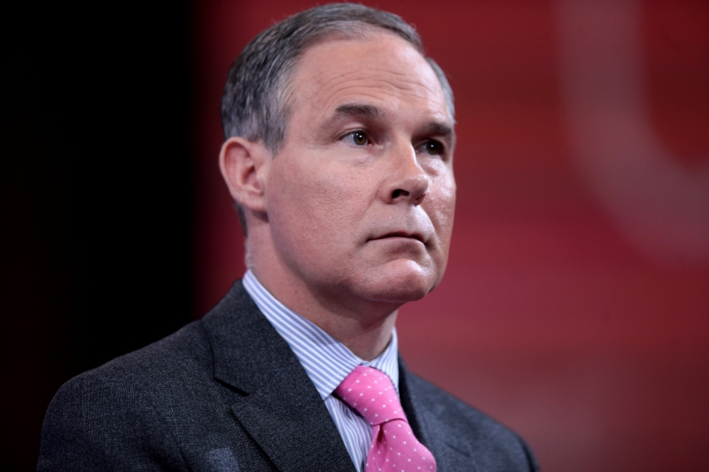 EPA Administrator Scott Pruitt (Photo: Wikimedia Commons)