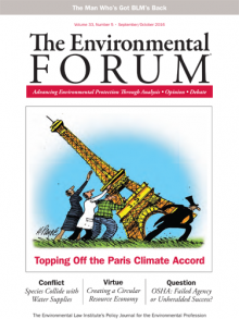 The Environmental Forum September-October 2016 issue