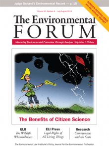 The Environmental Forum July-August 2016