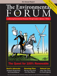 The Environmental Forum July-August 2019 issue
