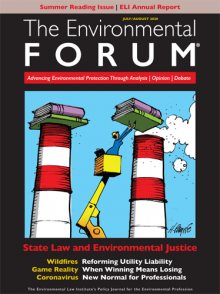 The Environmental Forum July-August 2020