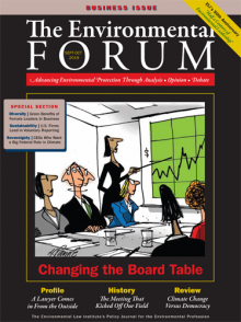 The Environmental Forum September-October 2019 issue