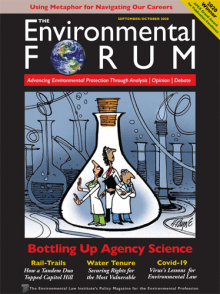 The Environmental Forum September/October 2020 issue