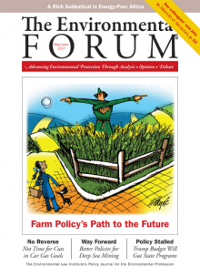 The Environmental Forum May June 2017 issue