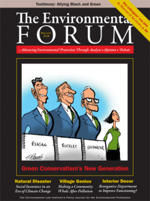 The Environmental Forum May-June 2018 issue