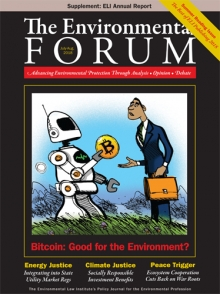 The Environmental Forum July-August 2018 Issue