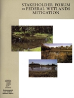 Stakeholder Forum on Federal Wetlands Mitigation