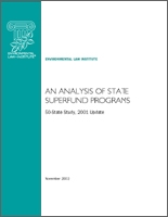 An Analysis of State Superfund Programs:  50-State Study, 2001 Update