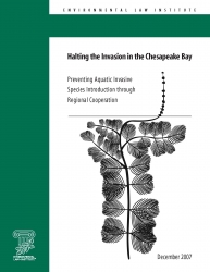 Halting the Invasion in the Chesapeake Bay: Preventing Aquatic Invasive Species