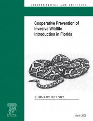 Cooperative Prevention of Invasive Wildlife Introduction in Florida: Summary Rep
