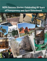 NEPA Success Stories: Celebrating 40 Years of Transparency and Open Government