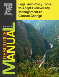 Legal and Policy Tools to Adapt Biodiversity Management to Climate Change