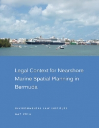 Legal Context for Nearshore Marine Spatial Planning in Bermuda Report Cover
