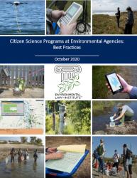 Citizen Science Programs at Environmental Agencies: Best Practices