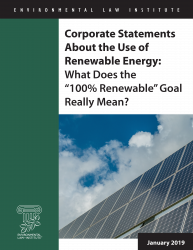 "Corporate Statements about the Use of Renewable Energy: What Does the ""100% Rene"