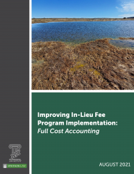 Improving In-Lieu Fee Program Implementation: Full Cost Accounting