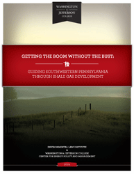 Getting the Boom without the Bust: Guiding Southwestern Pennsylvania through Sha