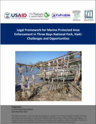 Legal Framework for Marine Protected Area Enforcement in Three Bays National Par