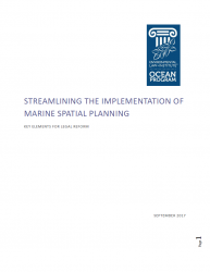 Streamlining the Implementation of Marine Spatial Planning: Key Elements for Leg