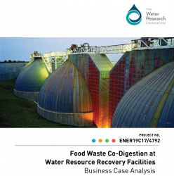 Food Waste Co-Digestion at Water Resource Recovery Facilities: Business Case Ana