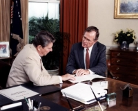 President Reagan and VP Bush
