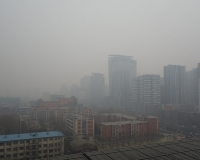 Air pollution in Chinese city