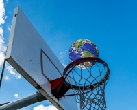 Earth basketball