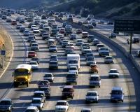 California highway traffic