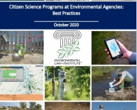 Cover of Citizen Science Programs at Environmental Agencies report