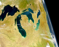 U.S. Great Lakes, NASA
