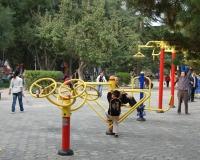 Playground in Lanzhou, China, Sigismund von Dobschütz