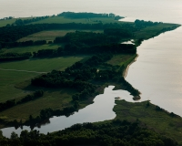 A Maryland shoreline was designed for climate resilience (Photo: Will Parson).