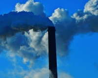 Coal power plant emissions (Pixabay).