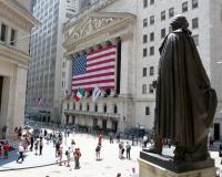 The New York Stock Exchange, on Wall Street (Photo: Benjamin Dumas).