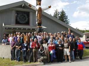 Participants at the 9th INECE Conference in Whistler, BC