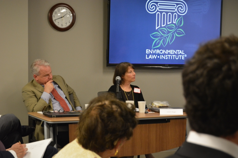 Vanderbilt University Law School Professor Michael P. Vandenbergh and ELI Senior Attorney Linda K. Breggin